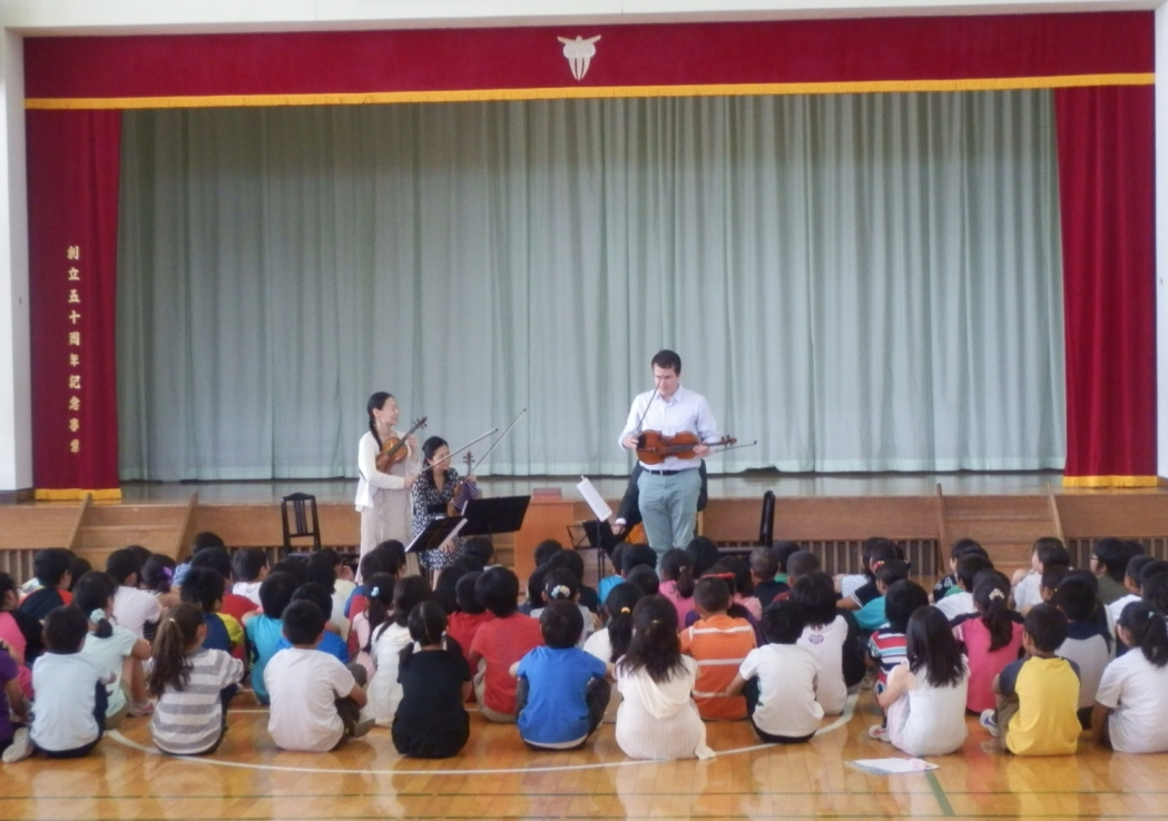 北上市立黒沢尻東小学校を訪問しました: 活動報告ブログ